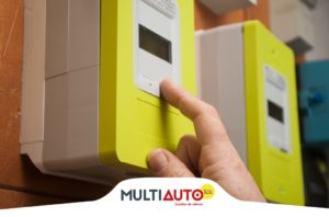 Reading of electricity meters to prepare your move