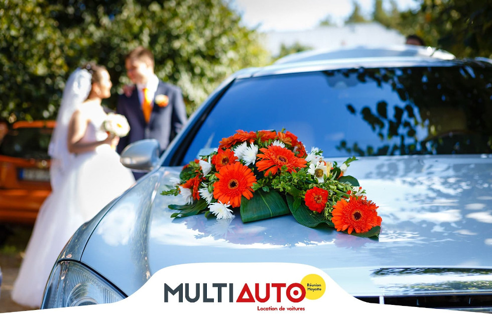 Luxury car rental for a wedding